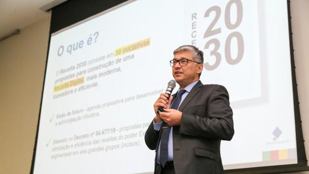 PORTO ALEGRE, RS, BRASIL, 10/06/2019 - Lançamento do Receita 2030 - Rumo à Receita Digital. Fotos: Gustavo Mansur / Palácio Piratini