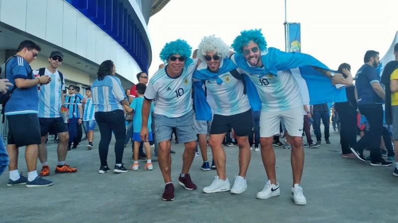 Arena argentinos2
