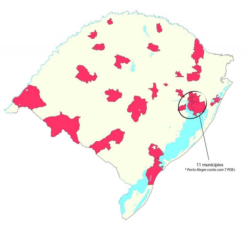 BM mapa
