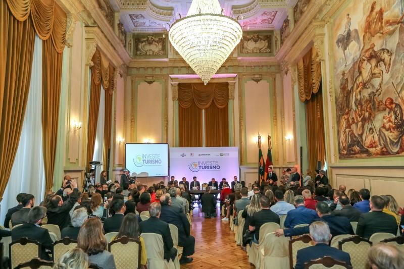 PORTO ALEGRE, RS, BRASIL, 31/07/2019 -  Lançamento do projeto INVESTE TURISMO RS e do Programa + Turismo RS. Fotos: Itamar Aguiar/ Palácio Piratini