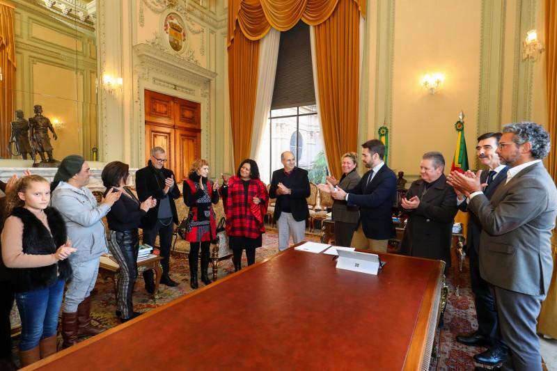 PORTO ALEGRE, RS, BRASIL, 05/08/2019 - PL 4/2019 que institui o Dia do(a) Declamador(a) Gaucho(a) no Rio Grande Do Sul. Fotos: Itamar Aguiar/Palácio Piratini