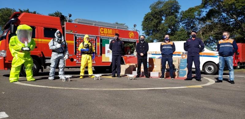 bombeiros perfilados