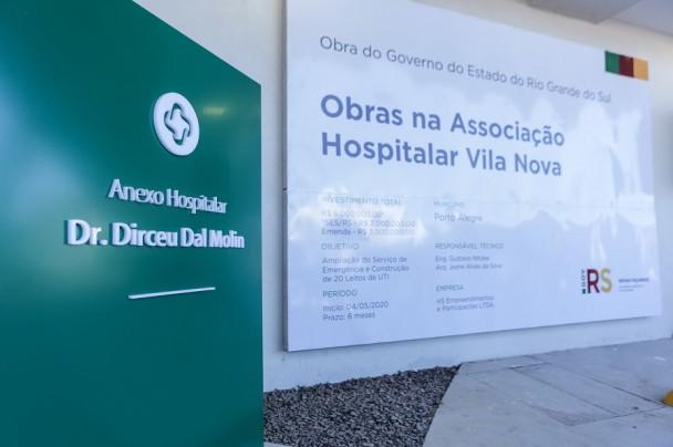 obras hospital Vila Nova