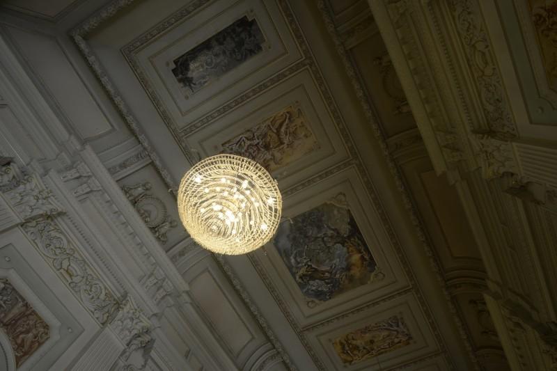 Palácio Piratini   Detalhe do Salão Negrinho do Pastoreio   foto Fernando Bueno