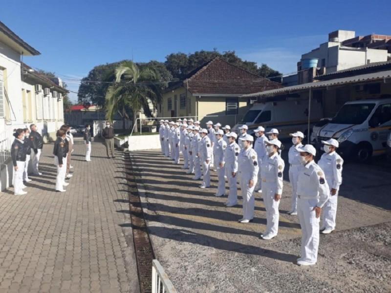 soldados temporários de saúde Santa Maria